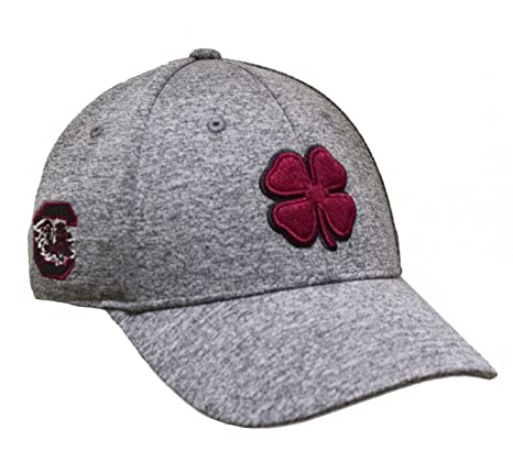 6276b264a2048 Image Unavailable. Image not available for. Color  NEW Black Clover Live  Lucky South Carolina Gamecocks Grey Red Fitted L XL Hat