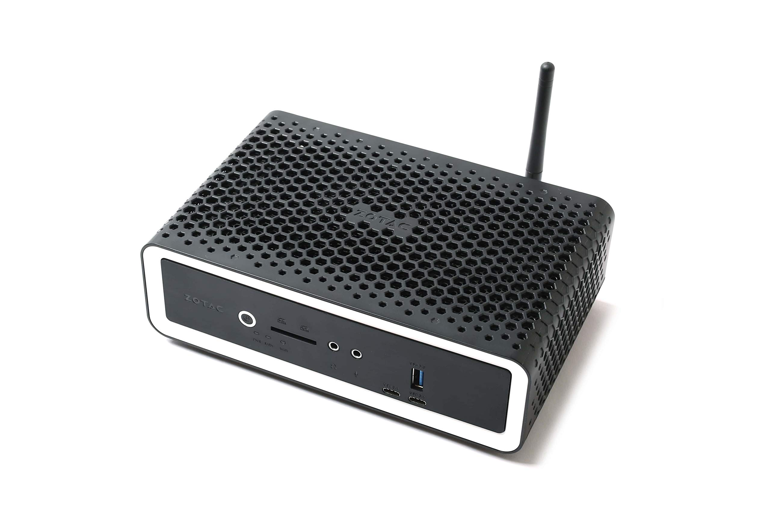 ZOTAC ZBOX CI620 Nano Plus Silent Mini PC 8th Gen Intel Core i3-8130U UHD 620 4GB DDR4/120GB SSD/No OS (ZBOX-CI620NANO-P-U) by ZOTAC (Image #3)