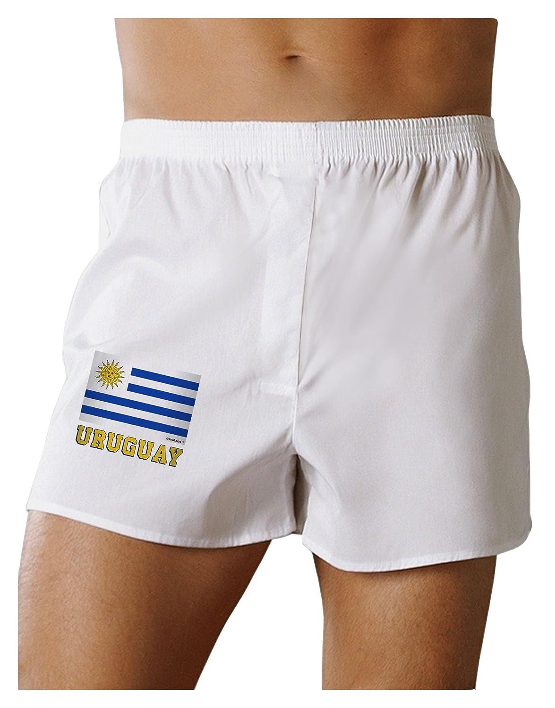 TooLoud Uruguay Flag Boxers Shorts