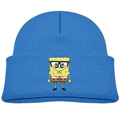 f0d7e54a858e6 Amazon.com  SpongeBob SquarePants Pineapple Fry Cook Kids Beanie Hat ...