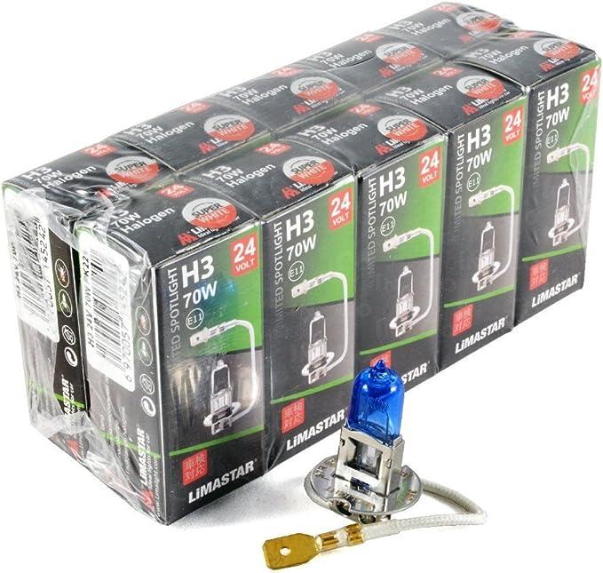 Limastar H3 24 V 70 W Xenon Weiß Halogen Scheinwerferlampen 6000 K Lkw Auto