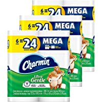 Deal for 36-Count Charmin Ultra Gentle Toilet Paper Mega Rolls for 29.73