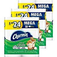 Deals on 36-Count Charmin Ultra Gentle Toilet Paper Mega Rolls