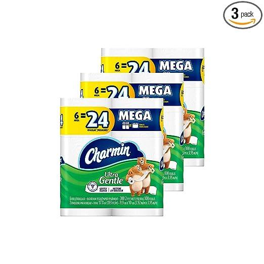1. Charmin Ultra Gentle Toilet Paper