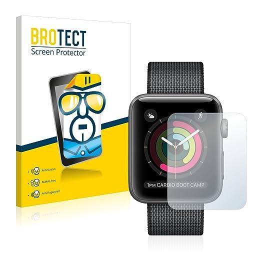 2 opinioni per 2x BROTECT HD-Clear Pellicola Protettiva Apple Watch Series 2 (42mm) Schermo
