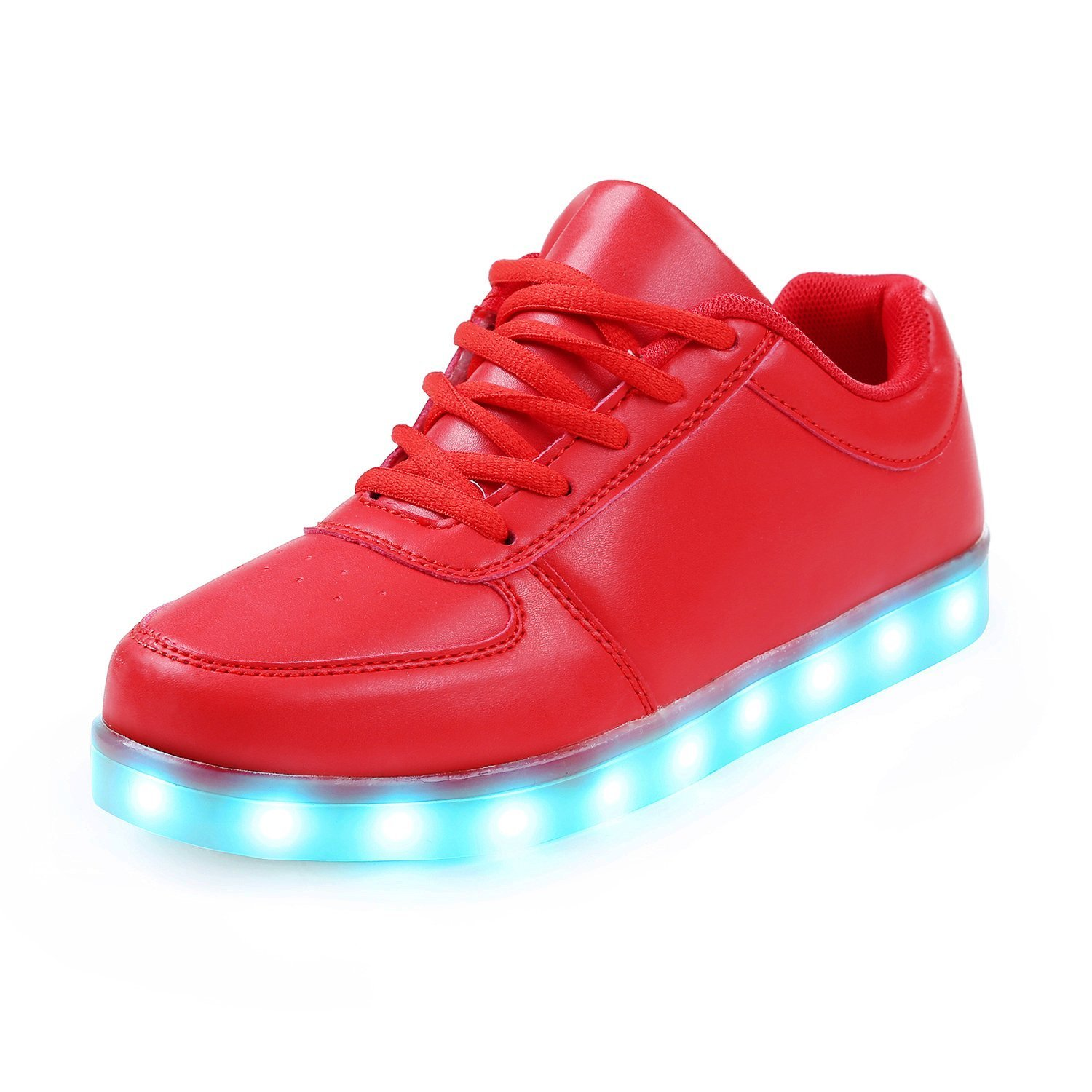95e158631c hot sale Unisex USB Charging 11 Colors LED Shoes Light Up Flashing Fashion  Sneakers For Mens