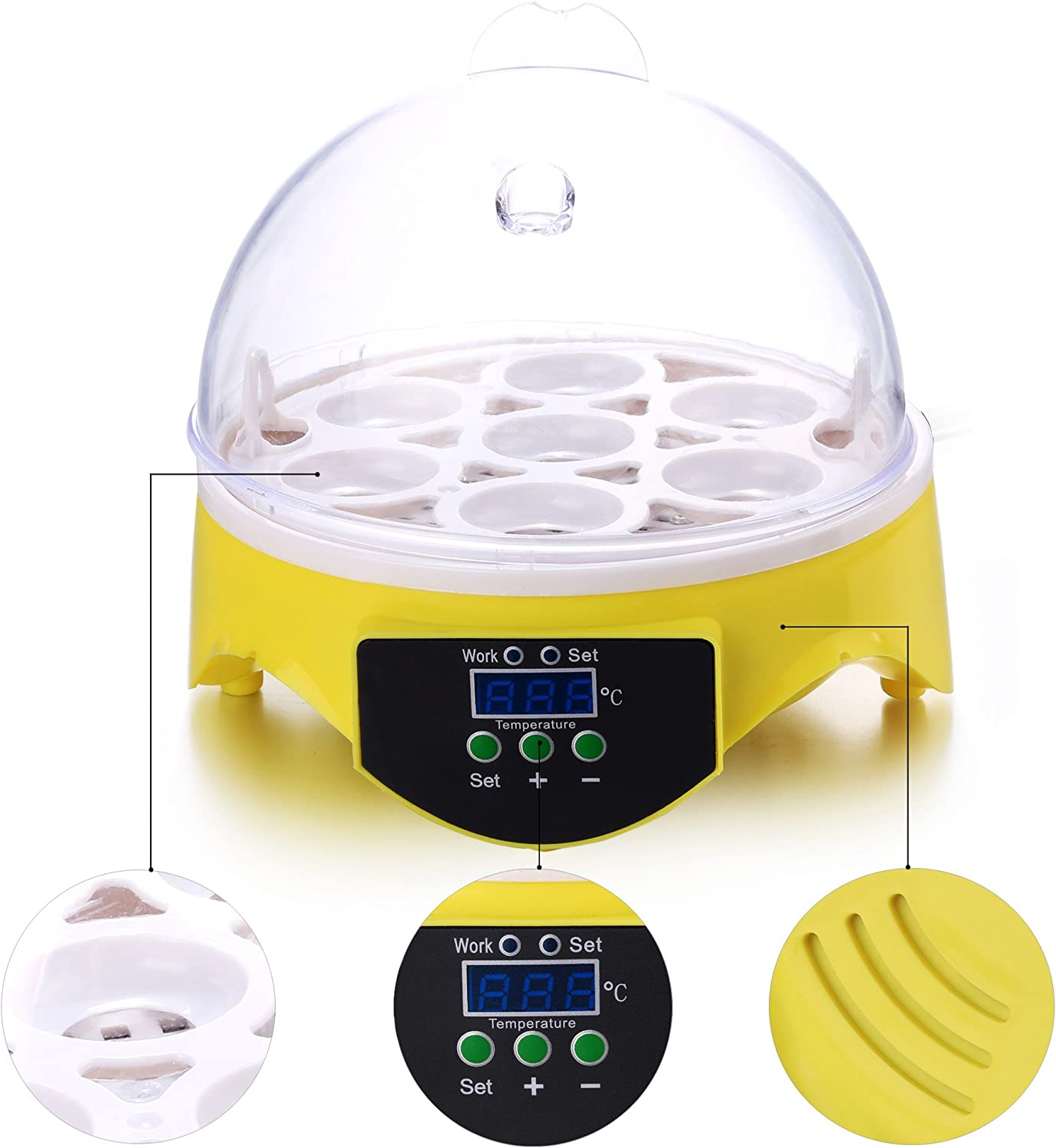 Moroly Egg Incubator auto Hatch Piece Component