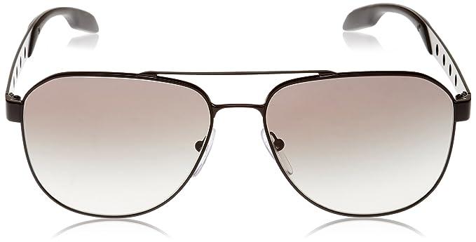 01328474becc Amazon.com: Prada Men's PR 51RS Sunglasses 60mm: Shoes