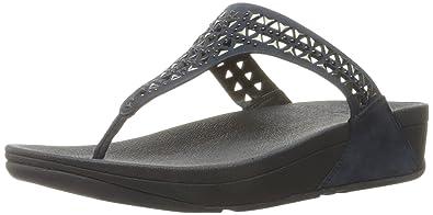 3c1a4c44f4bd FitFlop Women s Carmel Toe Post Flip Flop