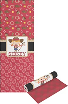Amazon.com : RNK Shops Red Western Yoga Mat - Printable ...