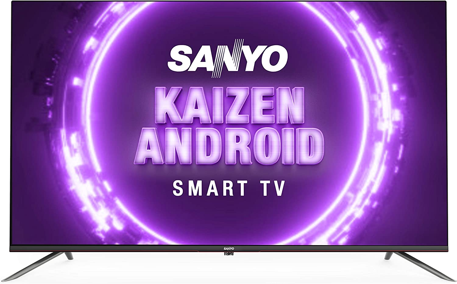 Sanyo 108 cm (43 inches) Kaizen Series 4K Ultra HD Smart Certified Android IPS LED TV XT-43A082U (Black) (2019 Model)