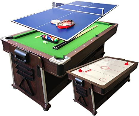 Simba Srl Mesa de Billar 7ft Mattew Carambola y Hockey de Mesa y Ping Pong y Plan de Cobertura: Amazon.es: Deportes y aire libre