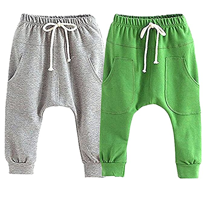 015f77192ad4 Amazon.com  REWANGOING 2 Pack of Little Baby Boys Girls Cotton ...