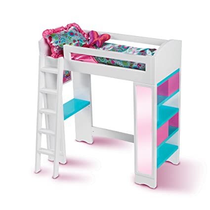 Amazon Com My Life As 18 Inch Doll Loft Bed Toys Games