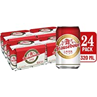 Krausebourg Lager Beer Can, 320ml (Pack of 24)