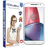 CELLBELL™ Tempered glass screen protector with FREE Installation Kit For Motorola Moto G4 Plus