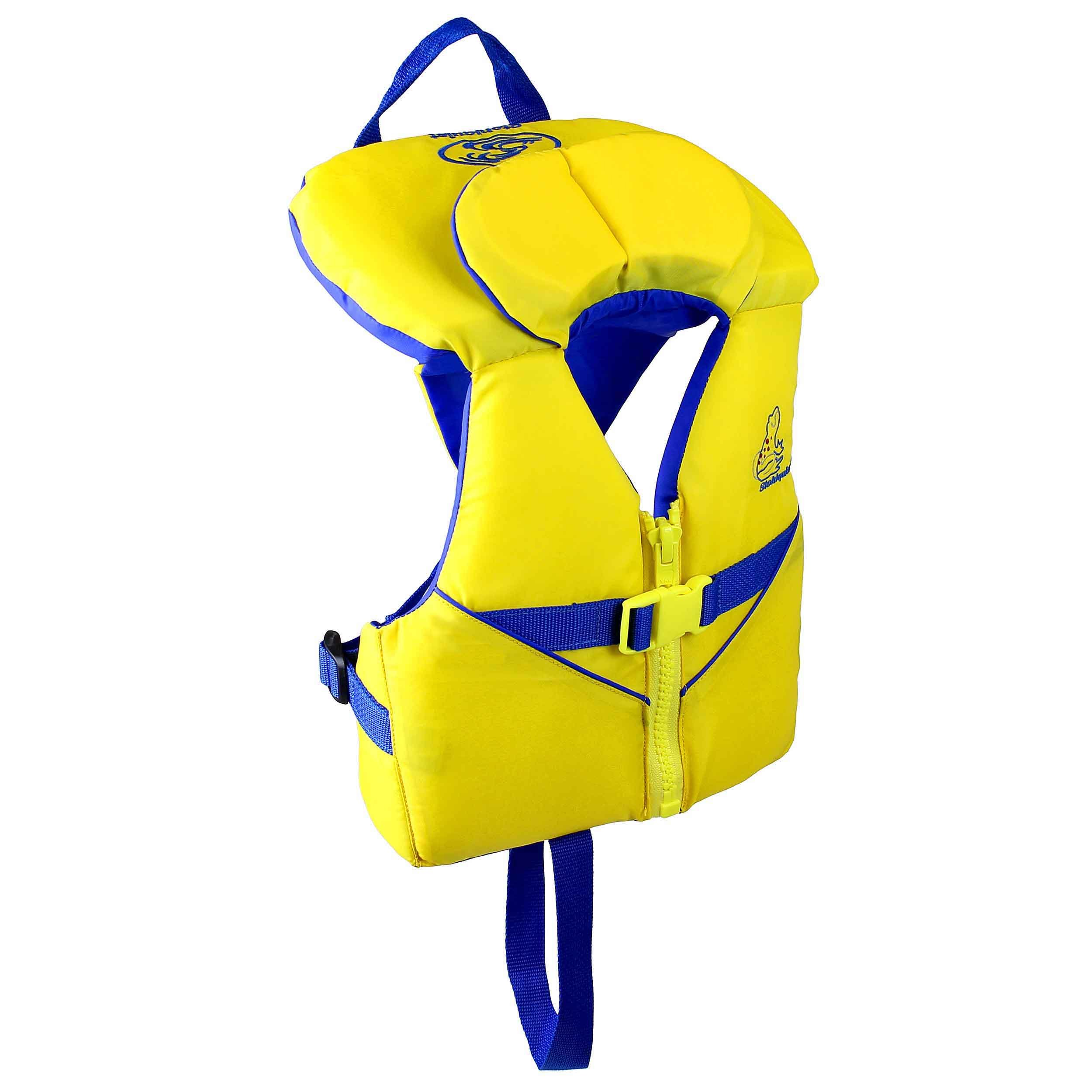 Stohlquist Infant PFD 8-30 lbs, Yellow/Blue