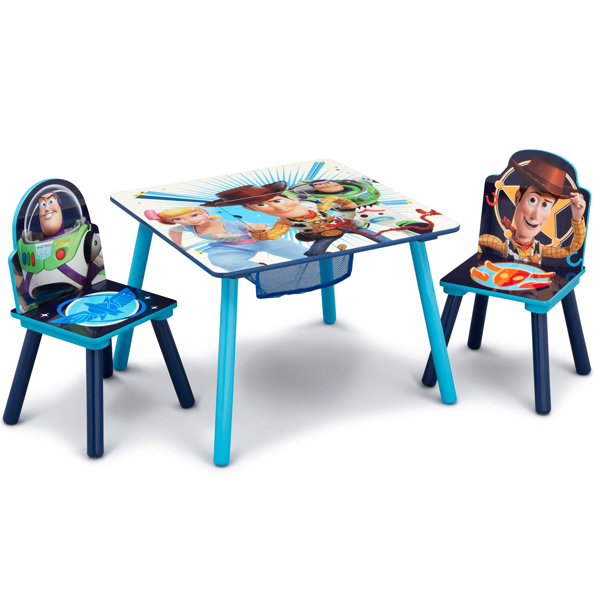 Delta Children Kids Chair Set and Table (2 Chairs Included), Disney/Pixar Toy Story 4