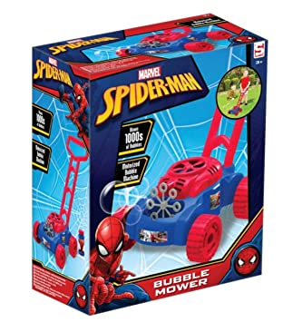 Sambro- Cortacésped pompero Spiderman, (SPE-3263): Amazon.es ...