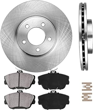 2001 2002 2003 2004 Mercury Sable OE Replacement Rotors w//Ceramic Pads F
