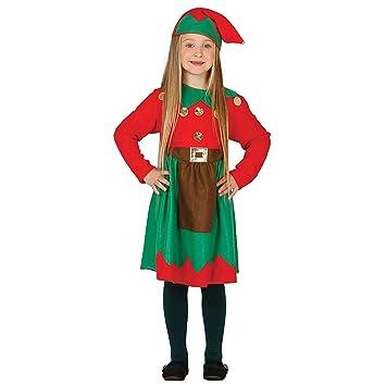 Disfraz de elfa infantil 7-9 años: Amazon.es: Juguetes y juegos