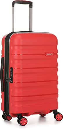 Antler Juno 2 4W Cabin Roller Carry-On Hardside, Red, 56cm
