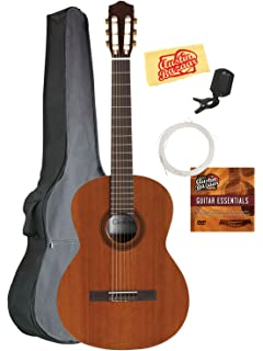 Cordoba C5 Classical Guitar Bundle with Gig Bag, Tuner, Austin Bazaar Instructional DVD,