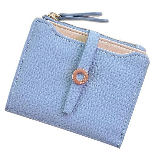 Damen Kunstleder Geldbörse Portemonnaie Brieftasche Mini Geldbeutel Tasche Bags