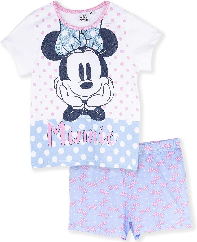 Kid Girl Minnie Princess Summer Nightdress Sleepwear Nightgown Nightwear PJ/'s UK