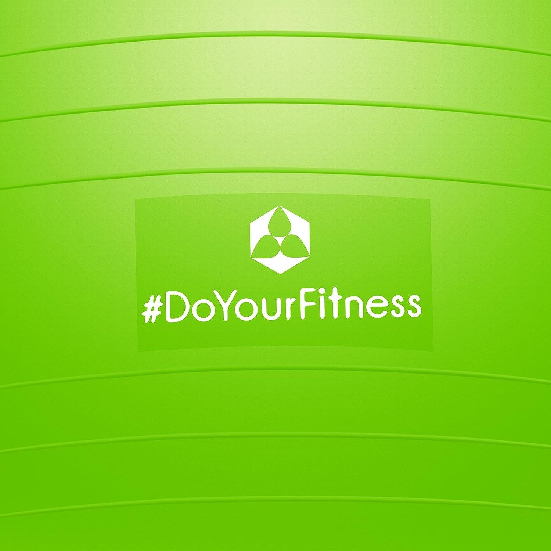 /& Luftpumpe robuster Sitzball 55cm 65cm 75cm o B/ürostuhl #DoYourFitness/® x Joyletics Gymnastikball inkl 100/% Berstsicher 85cm 150kg Belastbarkeit Fitnessball