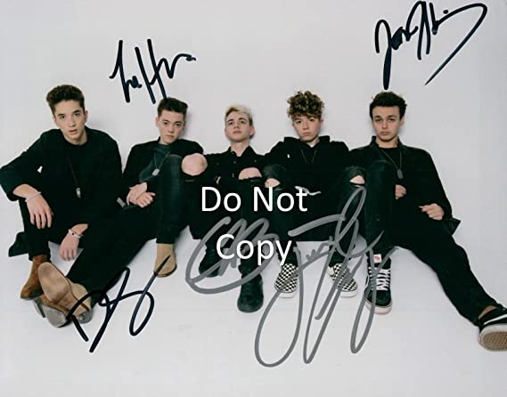 8c339091ba Why Don t We band reprint signed autographed photo  1 RP at Amazon s ...