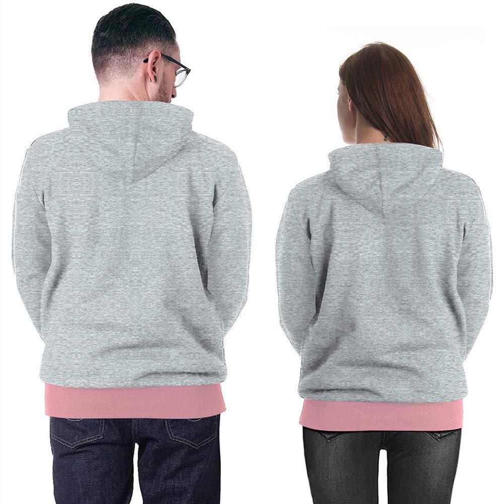 TOOPOOT Unisex Winter Antler 3D Printed Pouch Pocket Drawstring Hooded Sweatshirt Hoodies
