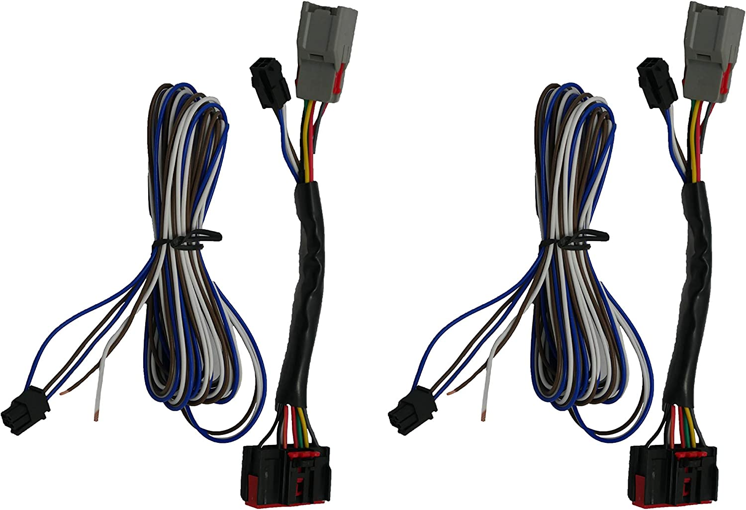 Amazon.com: Fits (2015-2019) - Ford F150 8 to 22 Pin Tow Mirror Adapter  Harness (Set Of Wires): AutomotiveAmazon.com