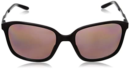 781a7f36f4 Amazon.com  Oakley Womens Game Changer Active Sunglasses One Size Rasp  Spritz Black Ice OO Grey Polarized  Clothing