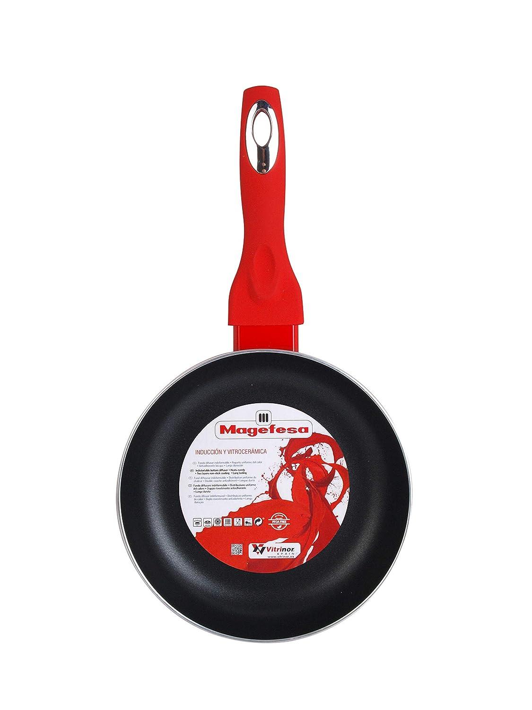 Amazon.com: Magefesa Crimson Set of Frying Pans 20 Ø 24 cm ...