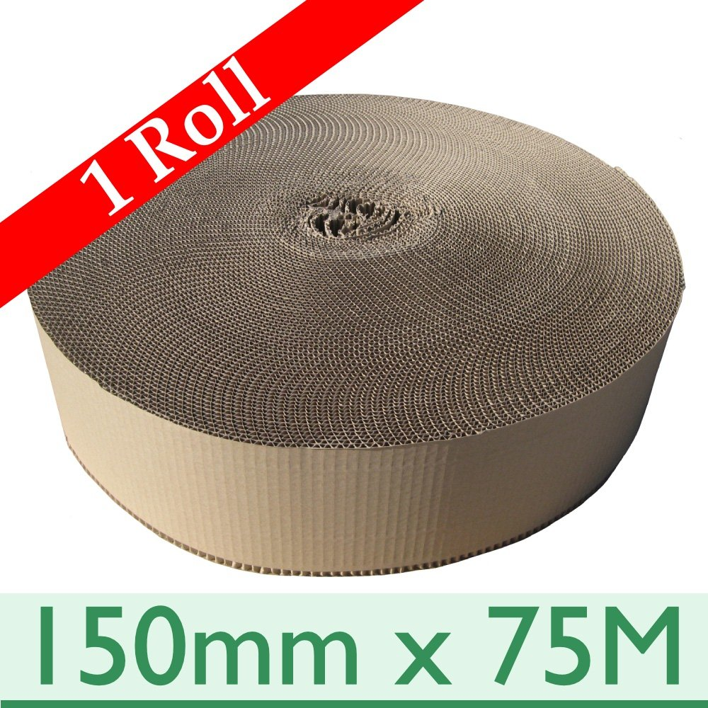 Corrugated Paper Rolls Single Faced 300mm x 75m 100/% recycled