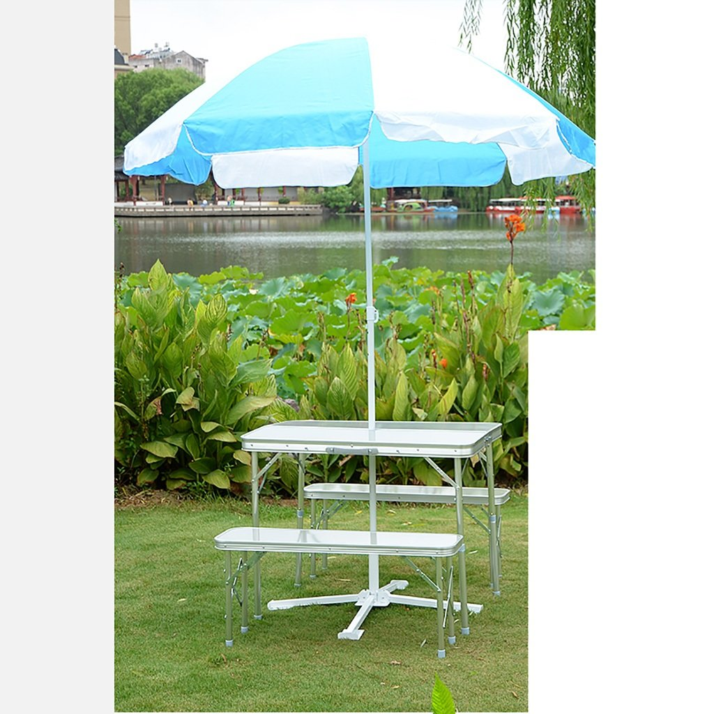 Suitcase table and chair set simple folding outdoor table and chair convenient to carry by Folding table Q (Image #8)
