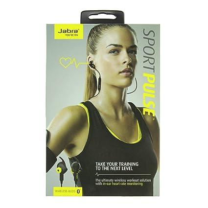 ecd4ce7f05 Jabra Sport Pulse Bluetooth Earphones with Heart Rate Monitor Black  SUPM44449  Amazon.ca  Cell Phones   Accessories