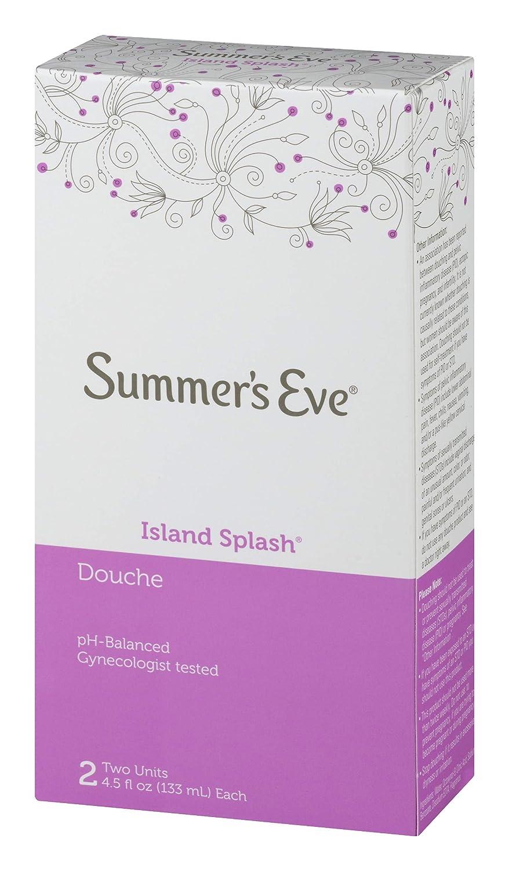 Summer's Eve Douche, Island Splash, 2-4 5 fl oz (133 ml) units