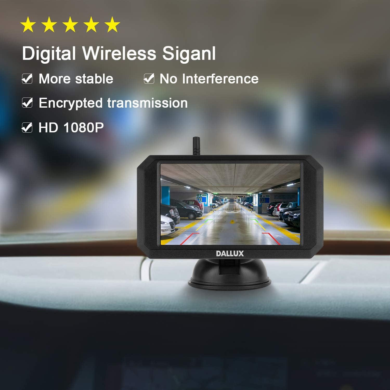 Dallux Wireless Backup Camera