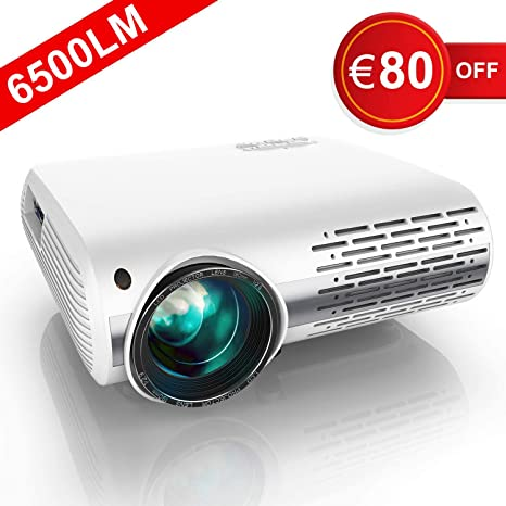 Yaber Proyector 4500 lúmenes Nativa 1080P Proyector LED Full HD ...