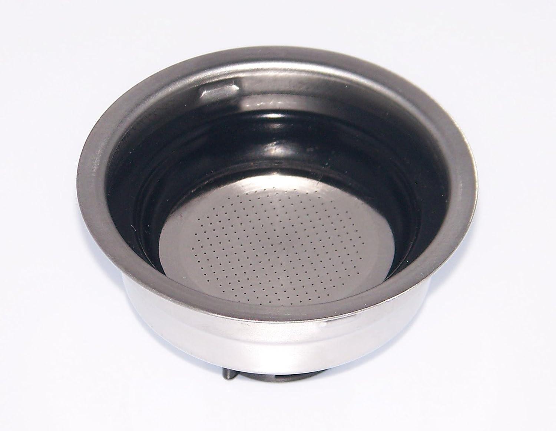 Delonghi Filter Assembly 1 Cup For Delonghi Models EC155, EC220CD, EC270, EC330, EC460
