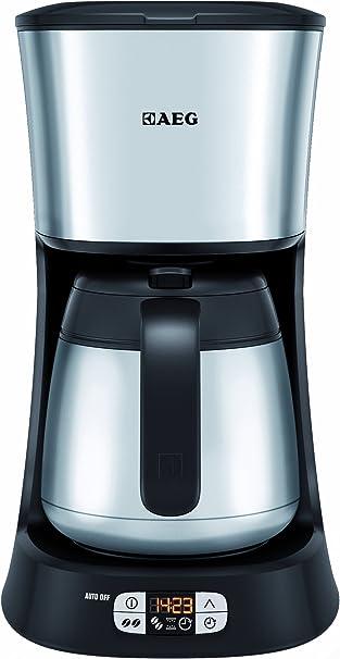 AEG ErgoSense KF 5265 - Cafetera eléctrica (recipiente térmico de acero, selección de aroma, temporizador programable): Amazon.es: Hogar