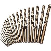 CUKCIC Brocas Helicoidales para Metal HSS-Co Cobalto Brocas