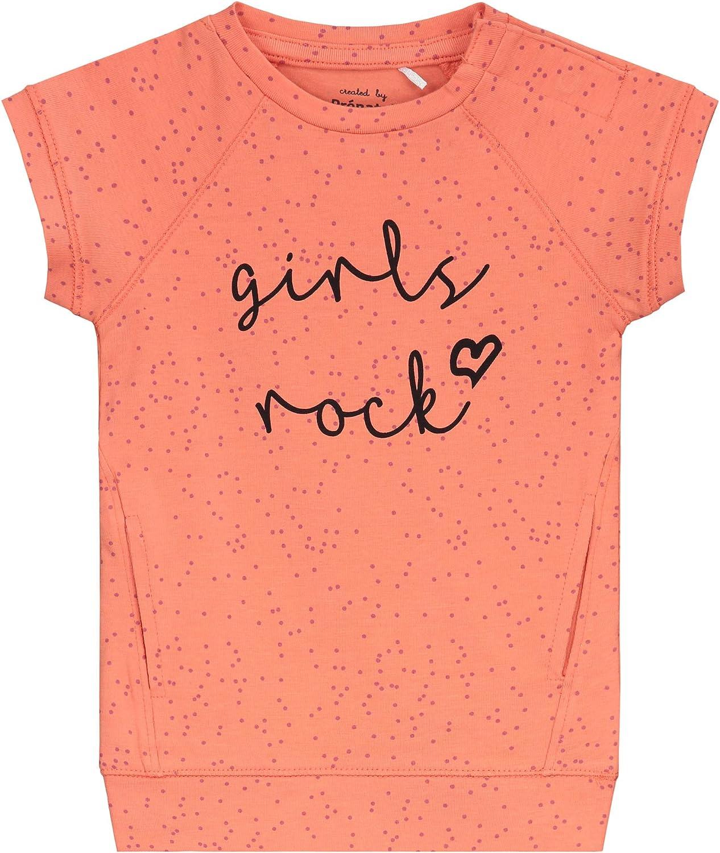 Pr/énatal Baby M/ädchen Kleid Girls Rock Orange
