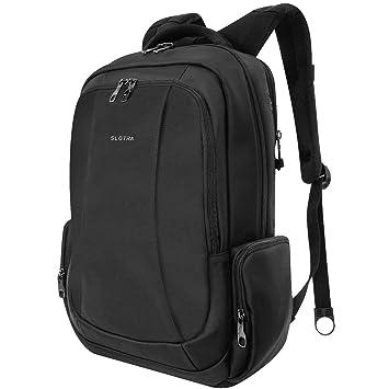Business Laptop Rucksack 15 15.6 Zoll Wasserabweisend Diebstahlsicherer PC-Fach  Viele Funktionstaschen Reisen Outdoor Mordern 71b8f1cf7c