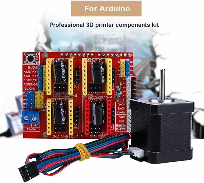 Kit de Montaje para Impresora 3D DIY CNC módulo Kit Placa ...