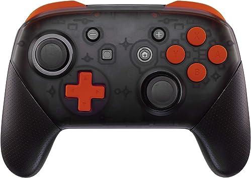 eXtremeRate ABXY D-Pad ZR ZL L R Botones para Mando Nintendo Switch Pro DIY Teclas de Reemplazo Tacto Suave Botón Completo con Herramientas para Nintendo Switch Pro-Controlador NO Incluido(Naranja): Amazon.es: Electrónica