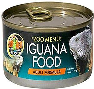 Zoo Med Iguana Adult Formula Wet Food, 6-Ounce
