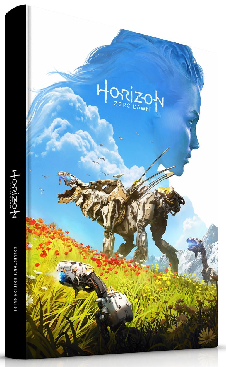 horizon zero dawn collectors edition guide (offizielles losungsbuch)